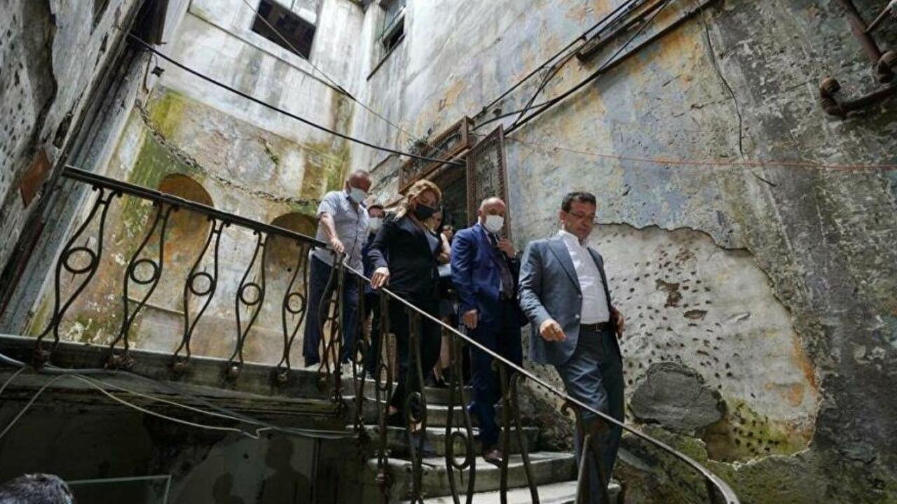 İBB tarihi hanı İstanbul'a kazandırıyor