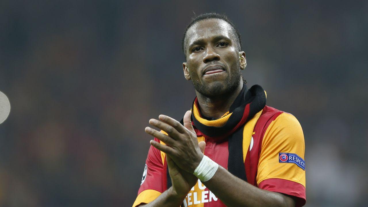 Drogba'dan Fenerbahçe taraftarına ırkçılık suçlaması