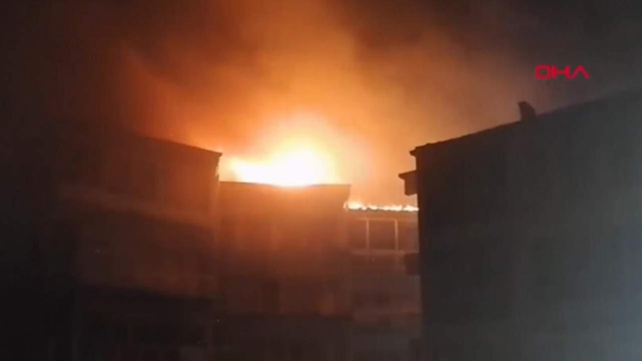 İstanbul'daki yazlık sitede yangın paniği