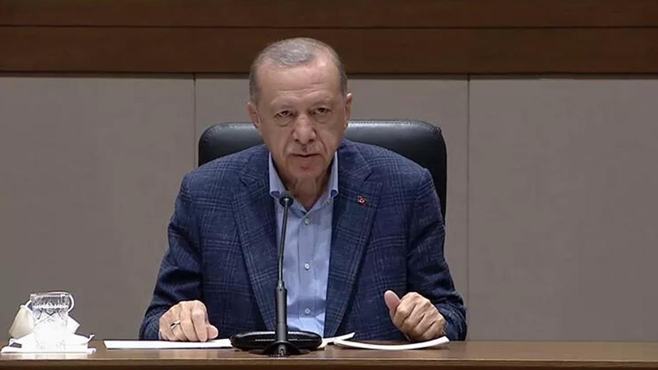 Erdoğan'dan seçim anketi çıkışı: ''Psikolojik operasyon yapılıyor''