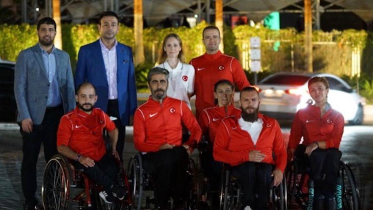 Beşiktaş Belediyesi'nin ''engelsiz sporcuları'' Avrupa'dan madalya ile döndü
