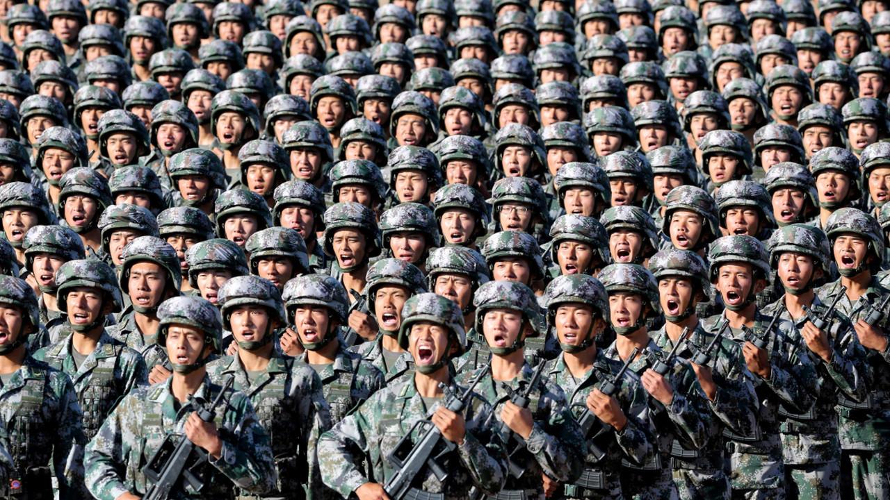 Savaşın ayak sesleri! Çin ordusu alarma geçti