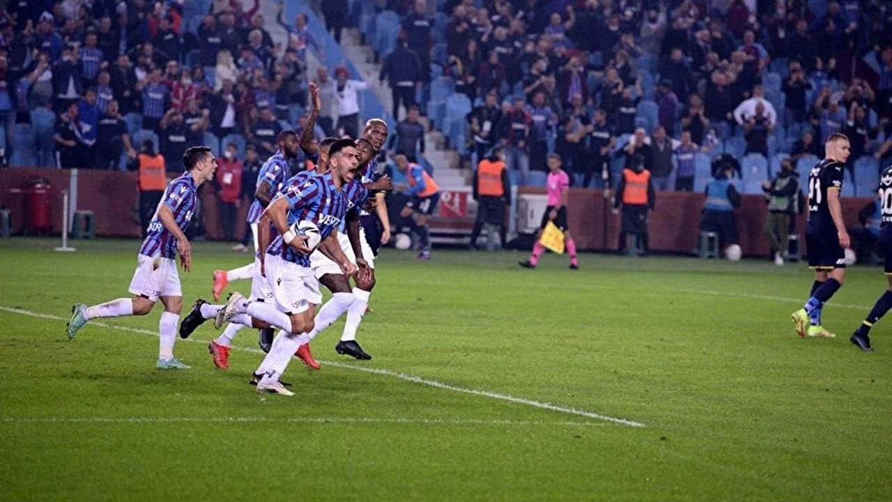 Fenerbahçe son dakikalarda yıkıldı; yeni lider Trabzonspor