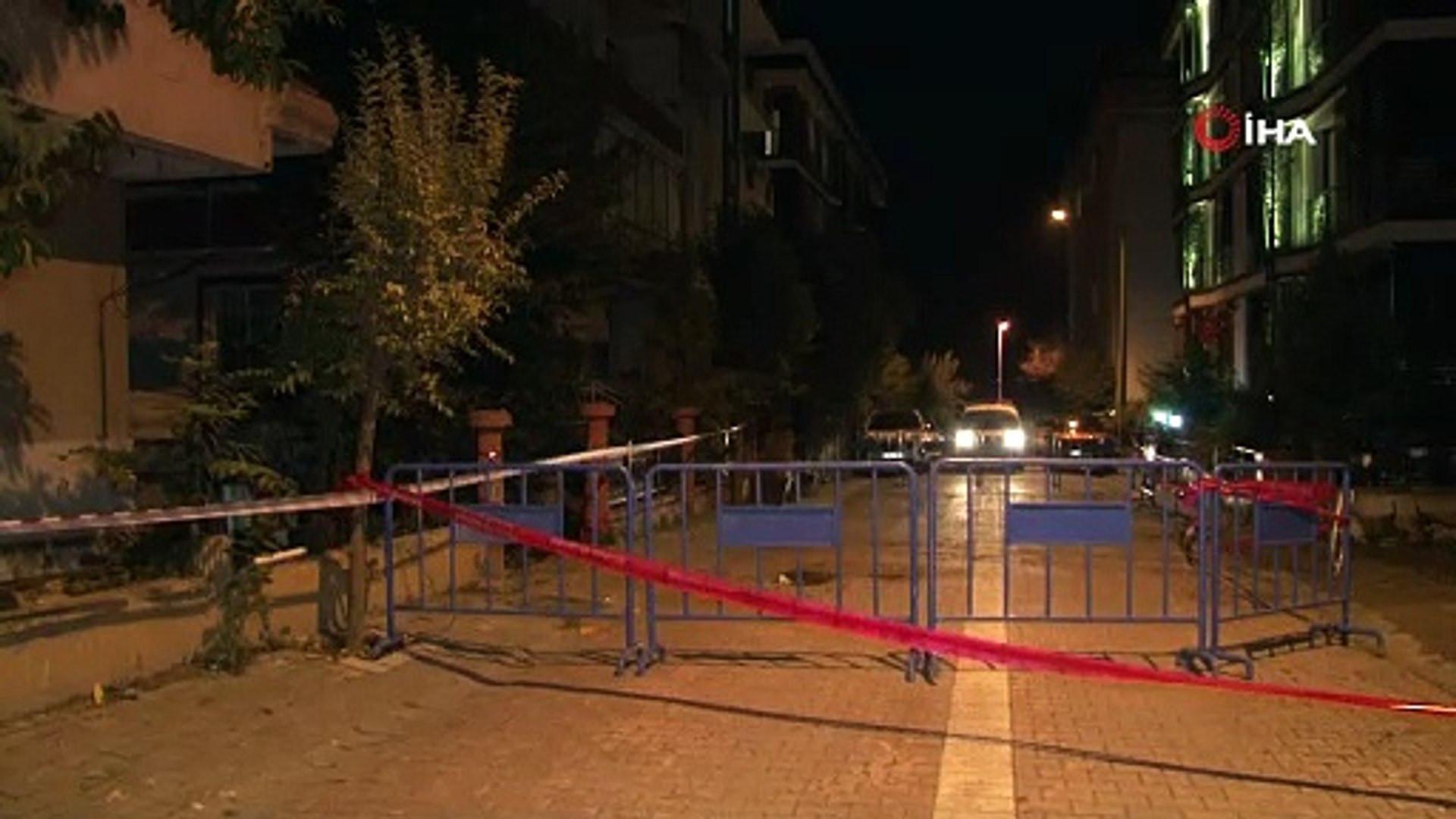 İstanbul'da balkon çöktü, bina tahliye edildi