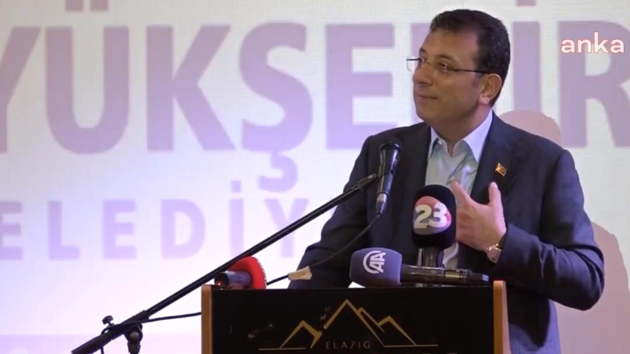 İmamoğlu'ndan sert tepki: ''16 milyon İstanbulluya hakaret ediyor''