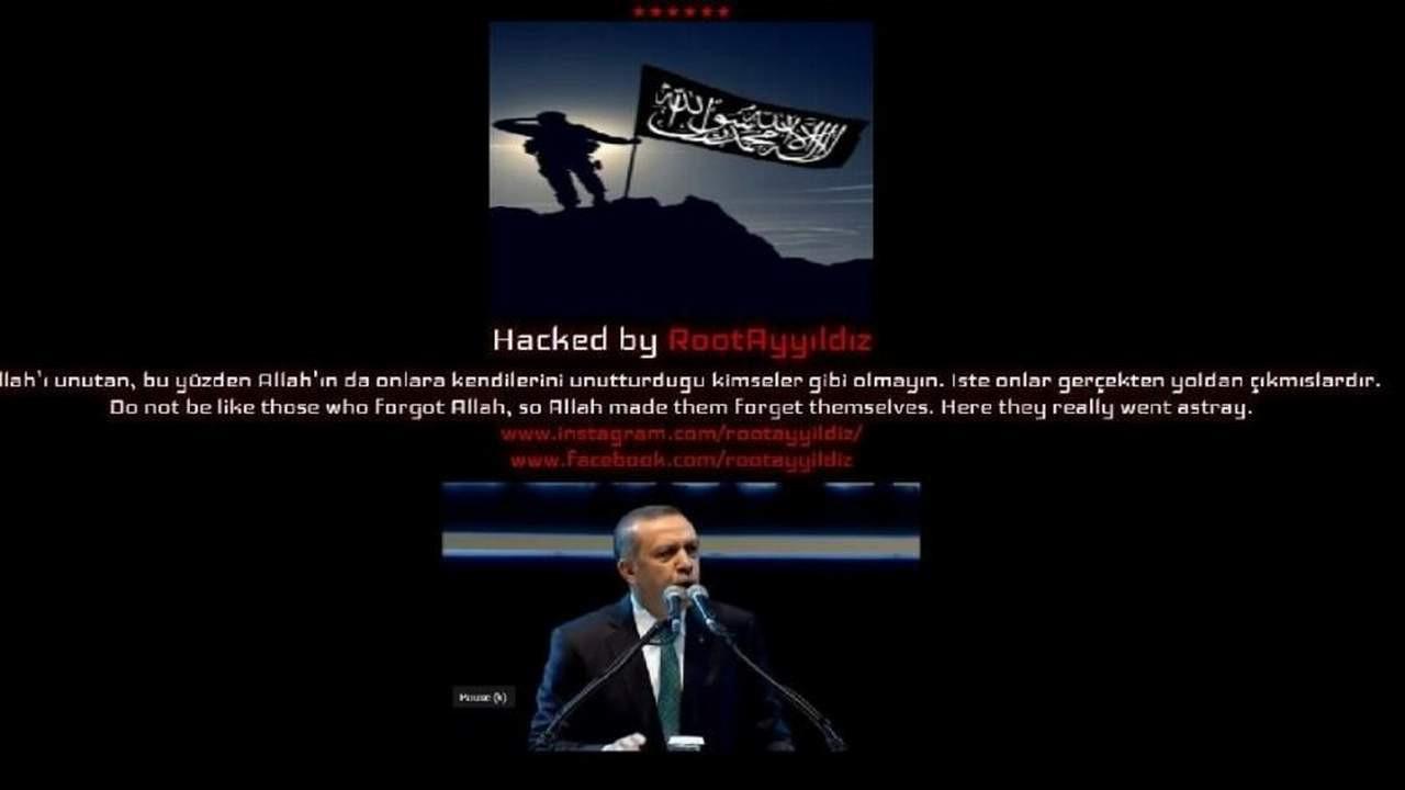 Trump'ı hackleyip Erdoğan videosu koydular