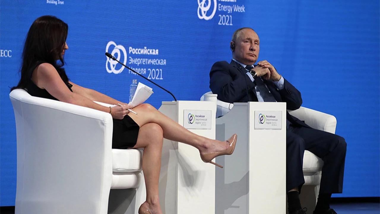 Rus medyası, Putin'e soru soran kadın sunucuyu yerden yere vurdu