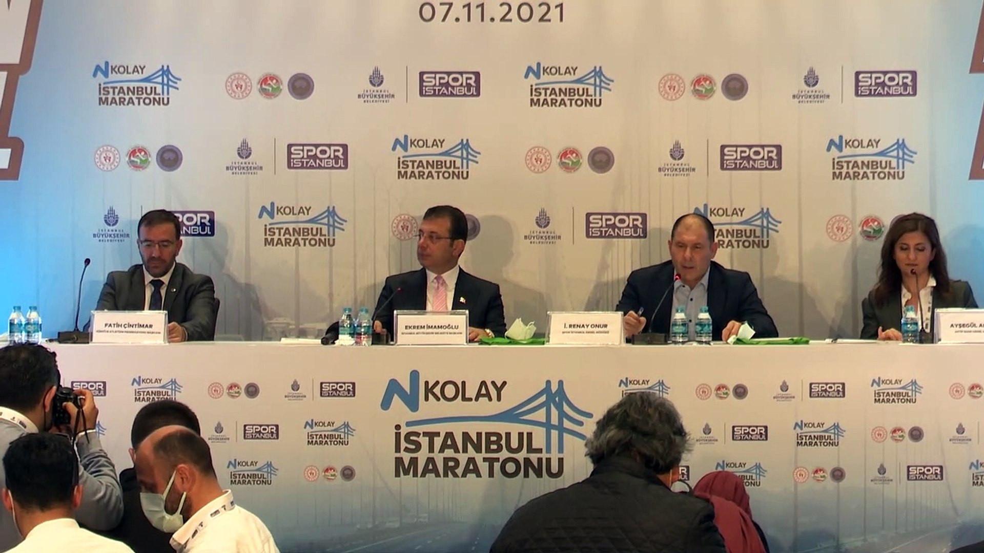 N Kolay 43. İstanbul Maratonu ''Uçan Tişörtlerle'' tanıltıldı