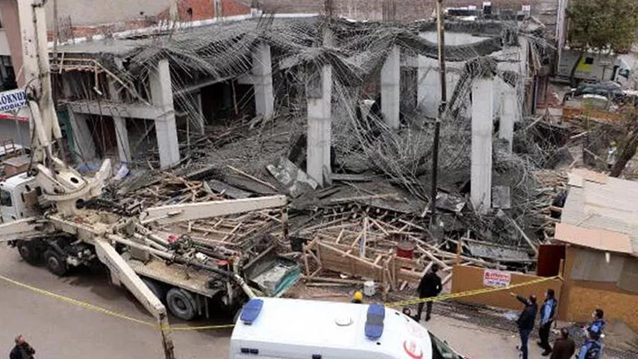 Ankara'da inşaatta göçük: Yaralılar var