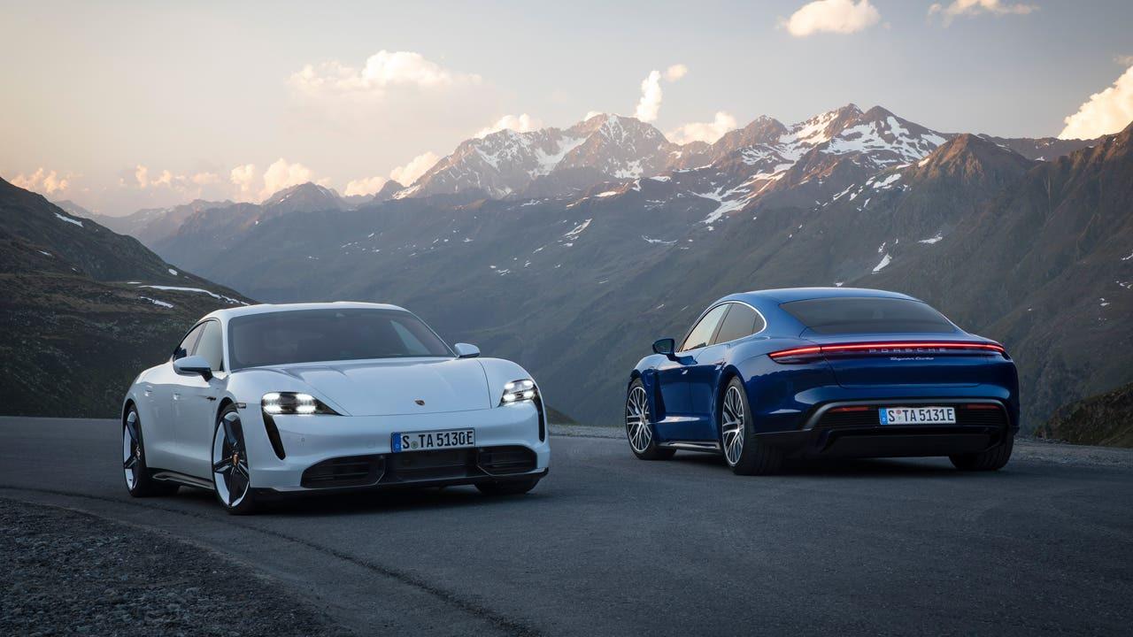 Porsche kendi kendini solladı... Kazanan Taycan!