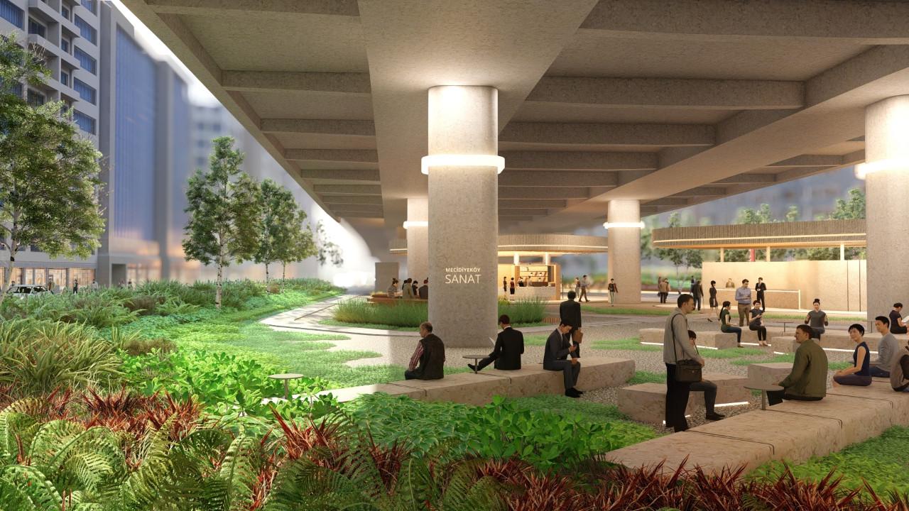 İBB'nin çalışmaları sona geldi: Mecidiyeköy Meydanı yeni yüzüne kavuşuyor