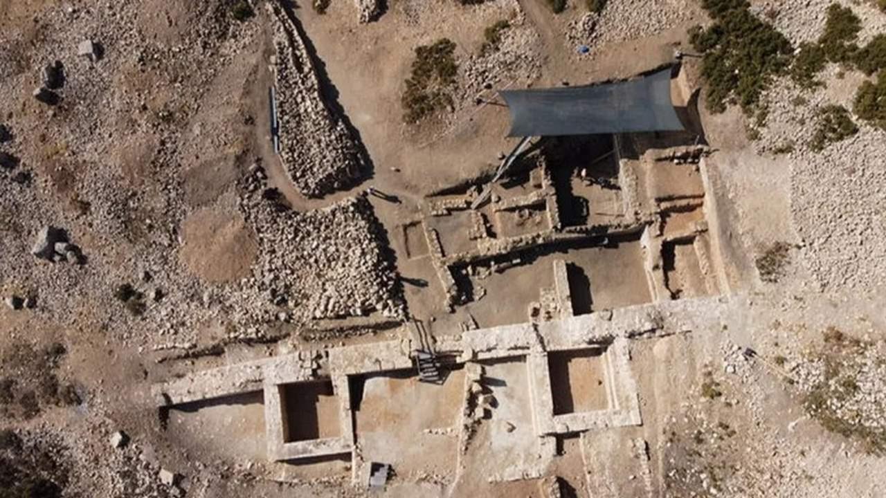 Sbide Antik Kenti'ndeki kaya mezarında tarihi keşif