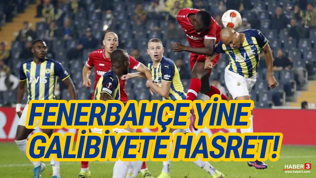 Kadıköy'de 4 gol var, galip yok! Fenerbahçe: 2 - Antwerp: 2