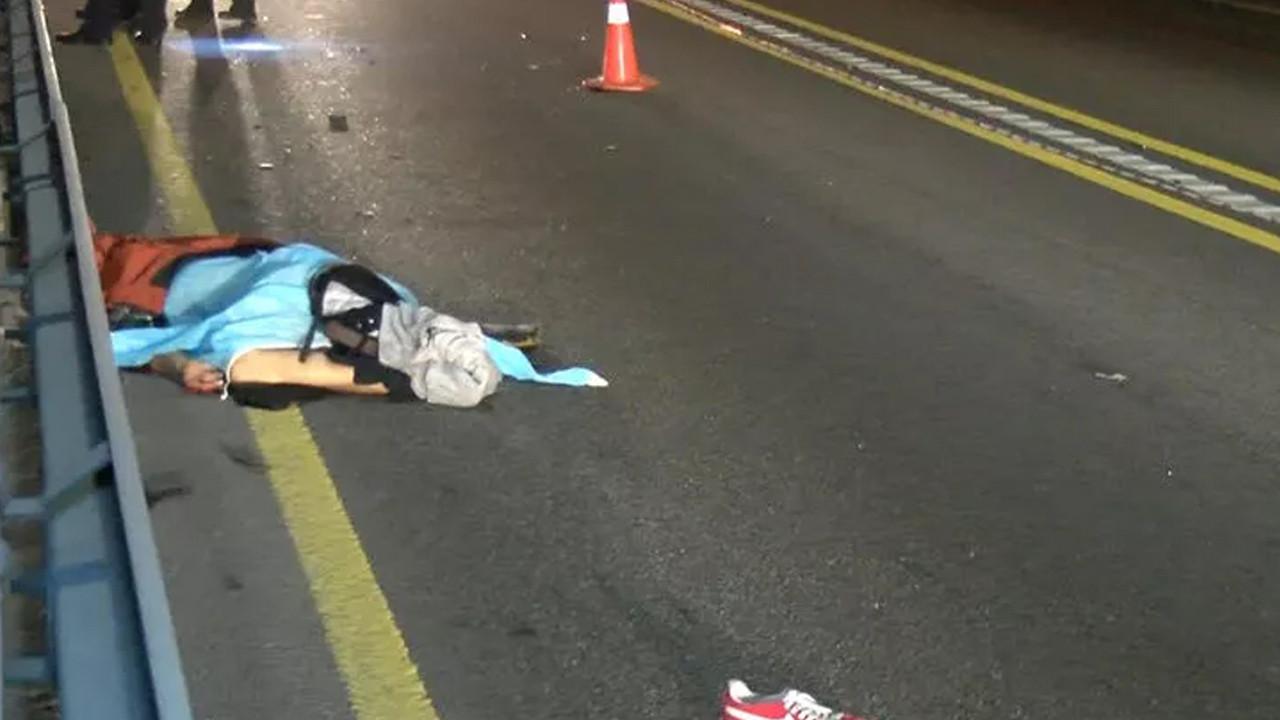 İstanbul'da korkunç ölüm