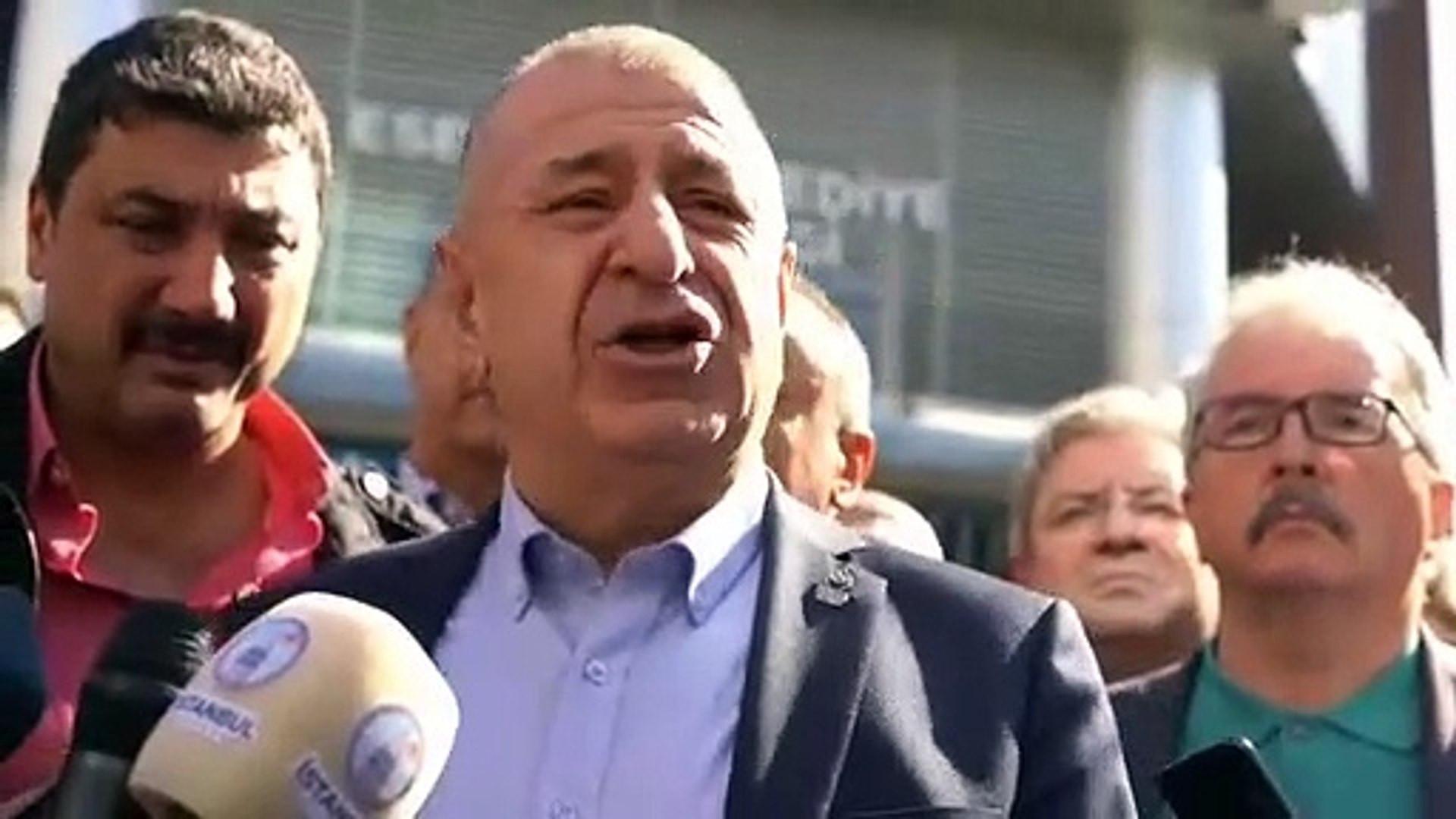 Zafer Partisi Lideri Özdağ, Esenler Belediyesi'nin Suriyeliler için verdiği şöleni protesto etti