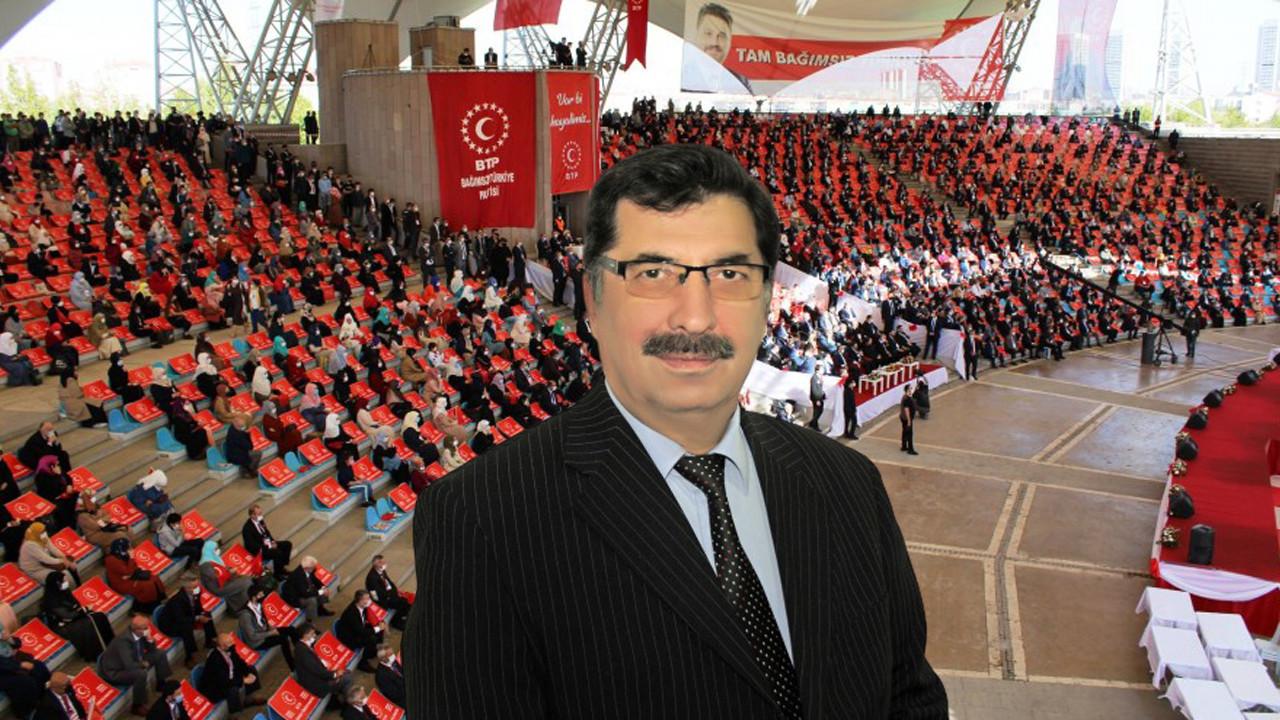 BTP Mersin İl Başkanı Ramiz Akın: ''İl kongremize tüm halkımızı bekliyoruz''