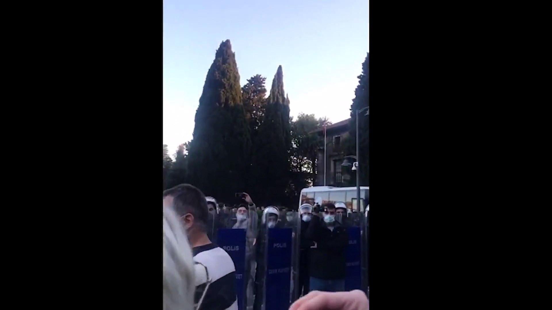 Boğaziçi Üniversitesi'nde çok sayıda gözaltı