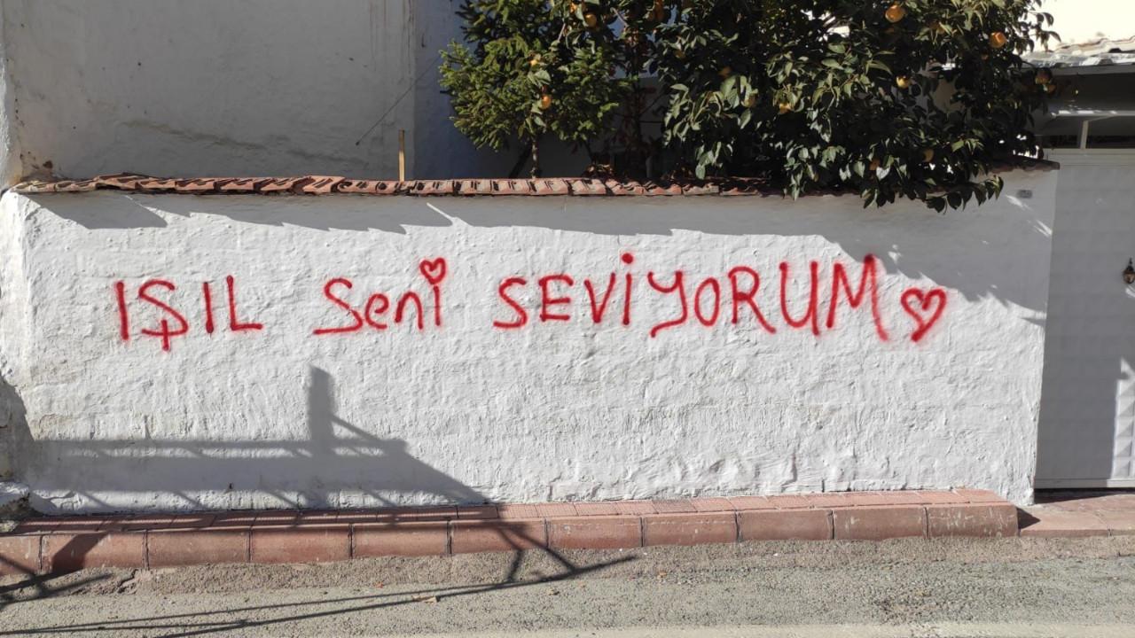 Aşkını duvara yazan gence belediyenin yanıtı bu oldu
