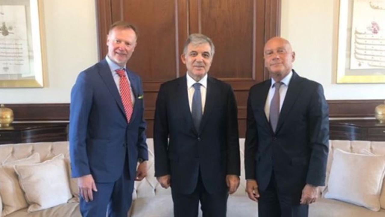 Abdullah Gül, ''Osman Kavala serbest bırakılsın'' diyen büyükelçiyle görüştü