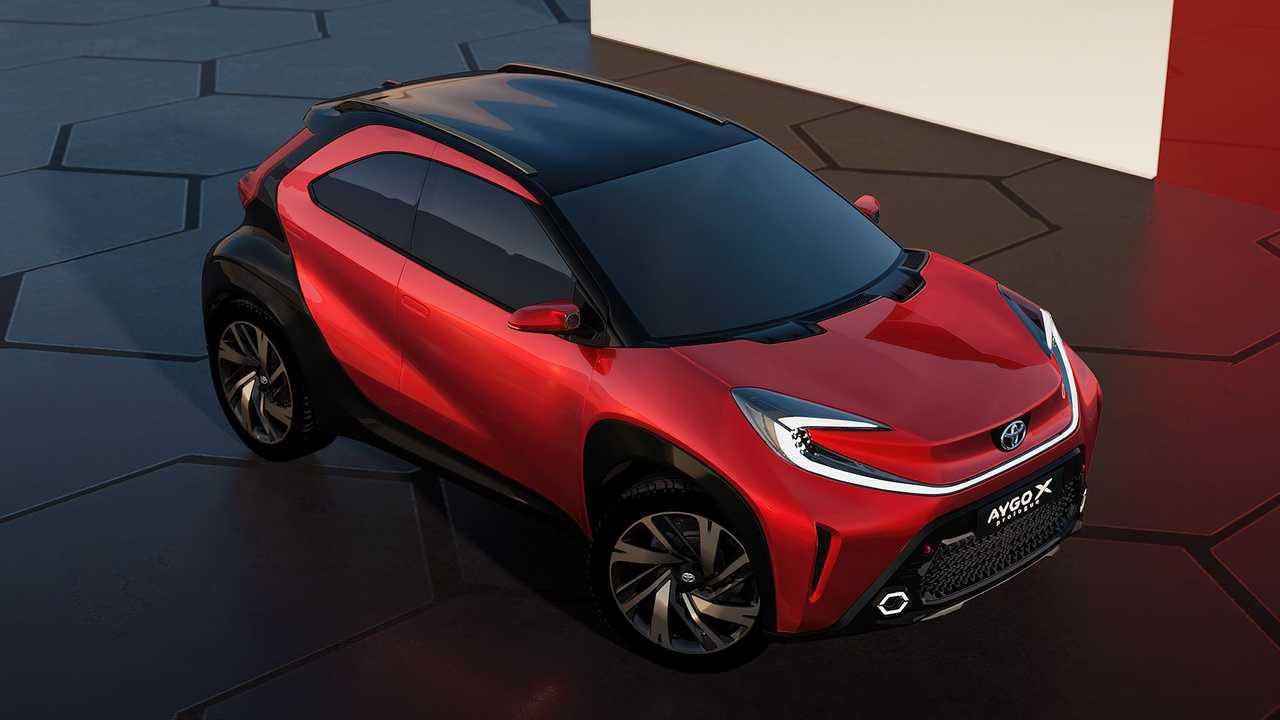 Toyota'dan sıra dışı bir ''şehirli'' crossover: Aygo X