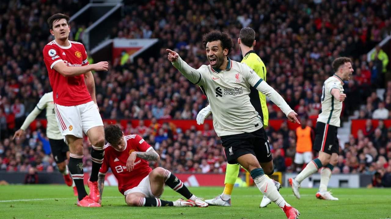 Liverpool Manchester Utd.'yi deplasman da tarihi farkla devirdi