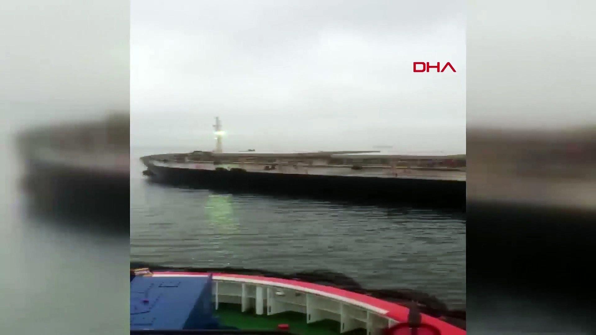 Marmara'da 2 yük gemisi çarpıştı