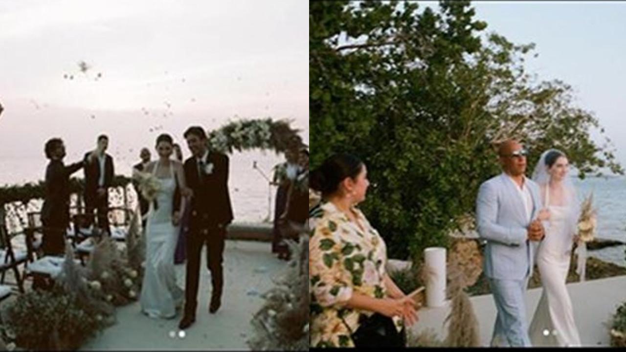 Paul Walker'ın kızı evlendi, kavalyesi Vin Diesel oldu