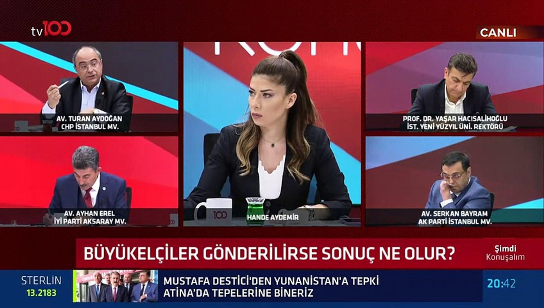 AK Parti ve CHP milletvekili canlı yayında birbirine girdi