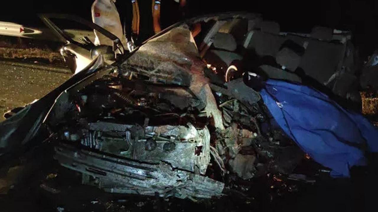 Bir aileyi yok eden kaza: Kontrolden çıkan kamyon dehşet saçtı