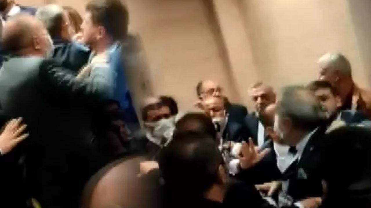 İYİ Parti kurultayı öncesi arbede yaşandı