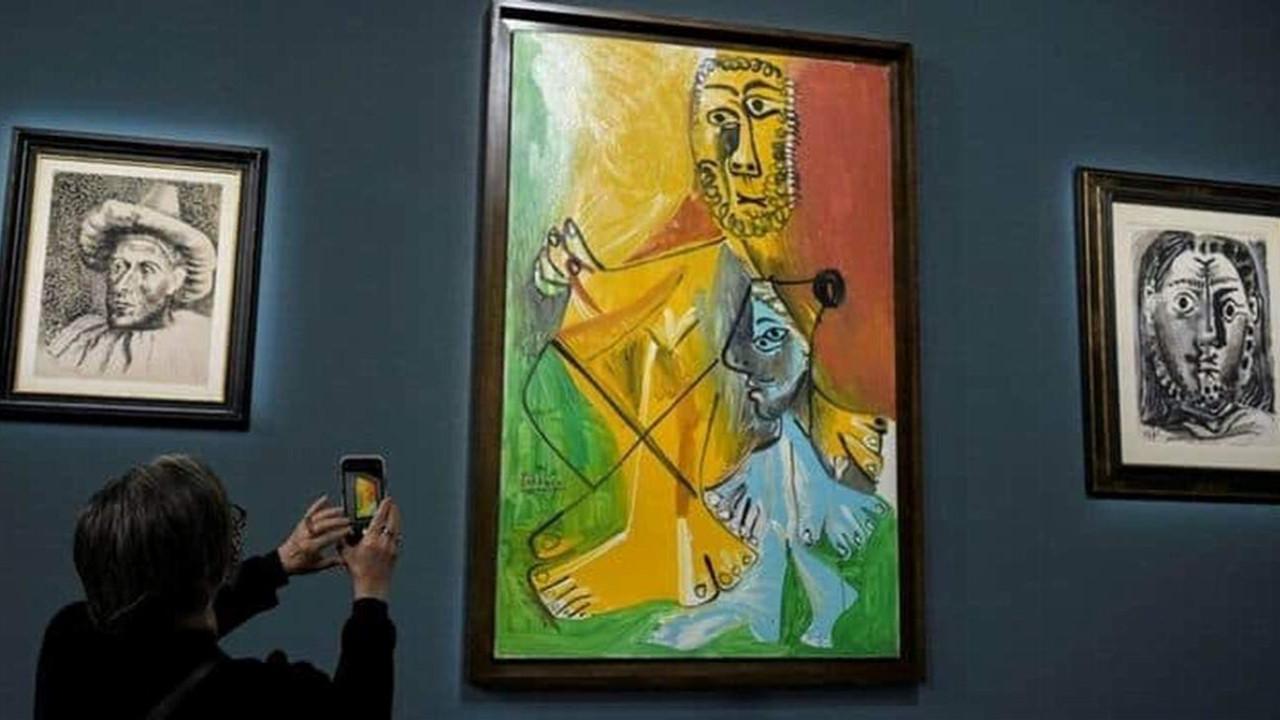 Picasso'nun tabloları 110 milyon dolara satıldı