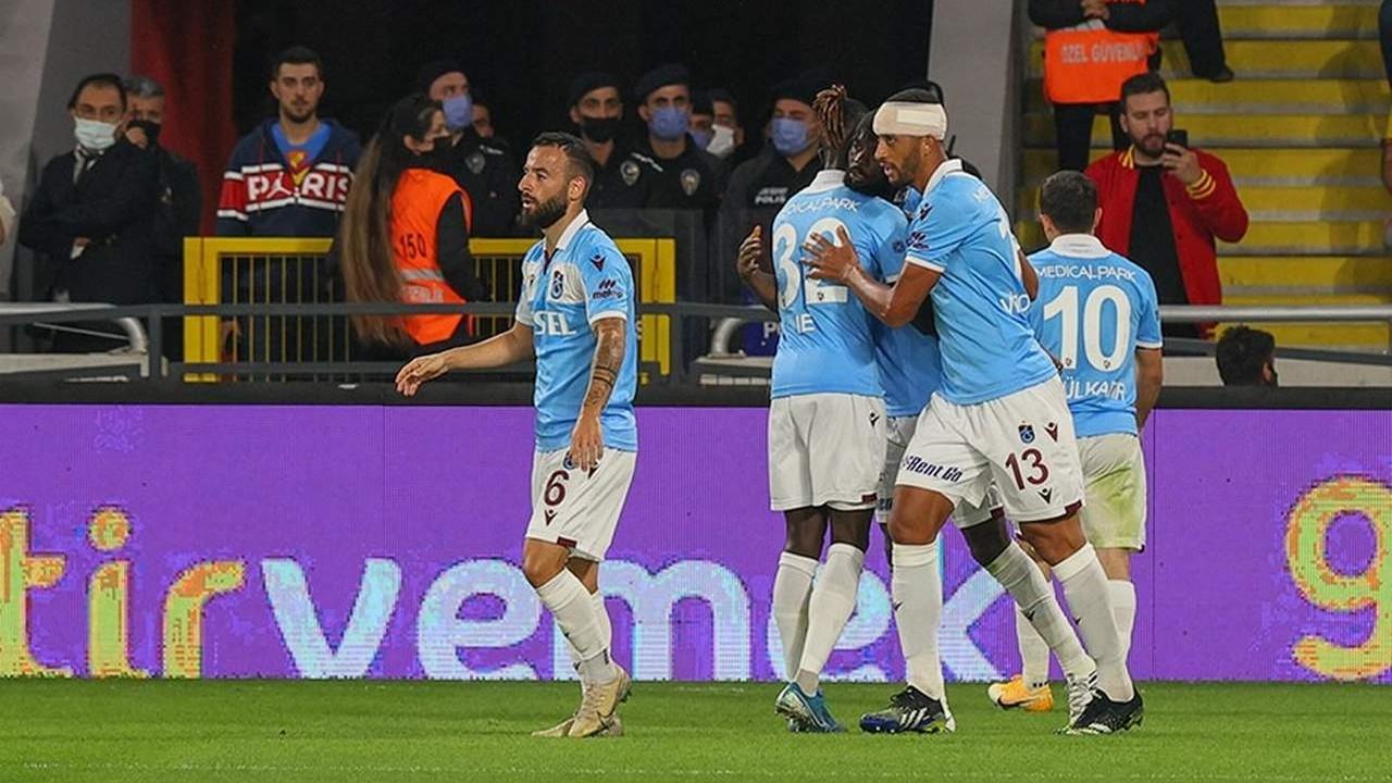 Trabzonspor, Göztepe'yi tek golle geçti