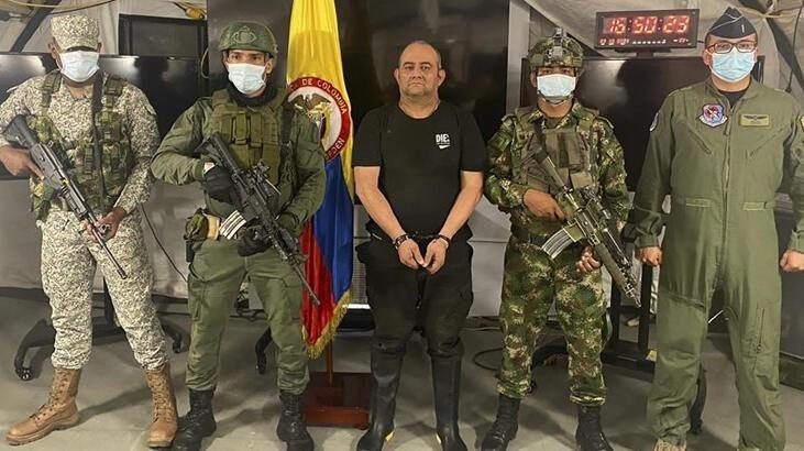 Kolombiya'nın en çok aranan uyuşturucu kaçakçısı ''Otoniel'' yakalandı