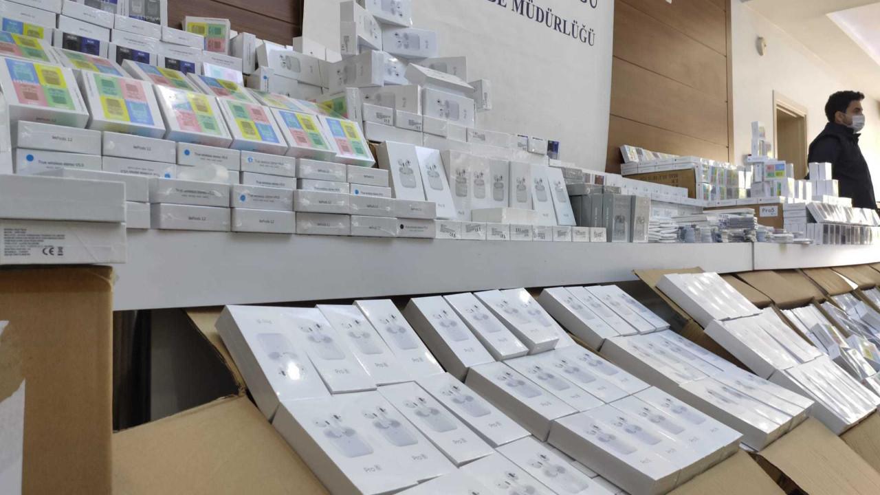 İstanbul'da dev taklit ürün operasyonu! Tam 84 milyon TL değerinde