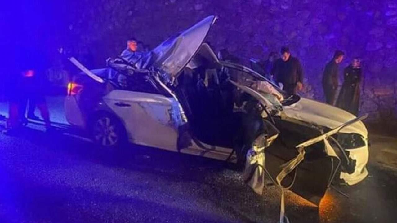 CHP'li Başkan kaza yaptı: 1 ölü 2 yaralı