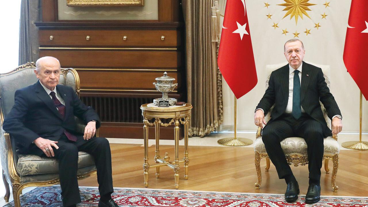 Kabine toplantısı öncesi sürpriz zirve! Erdoğan, Bahçeli ile görüşecek