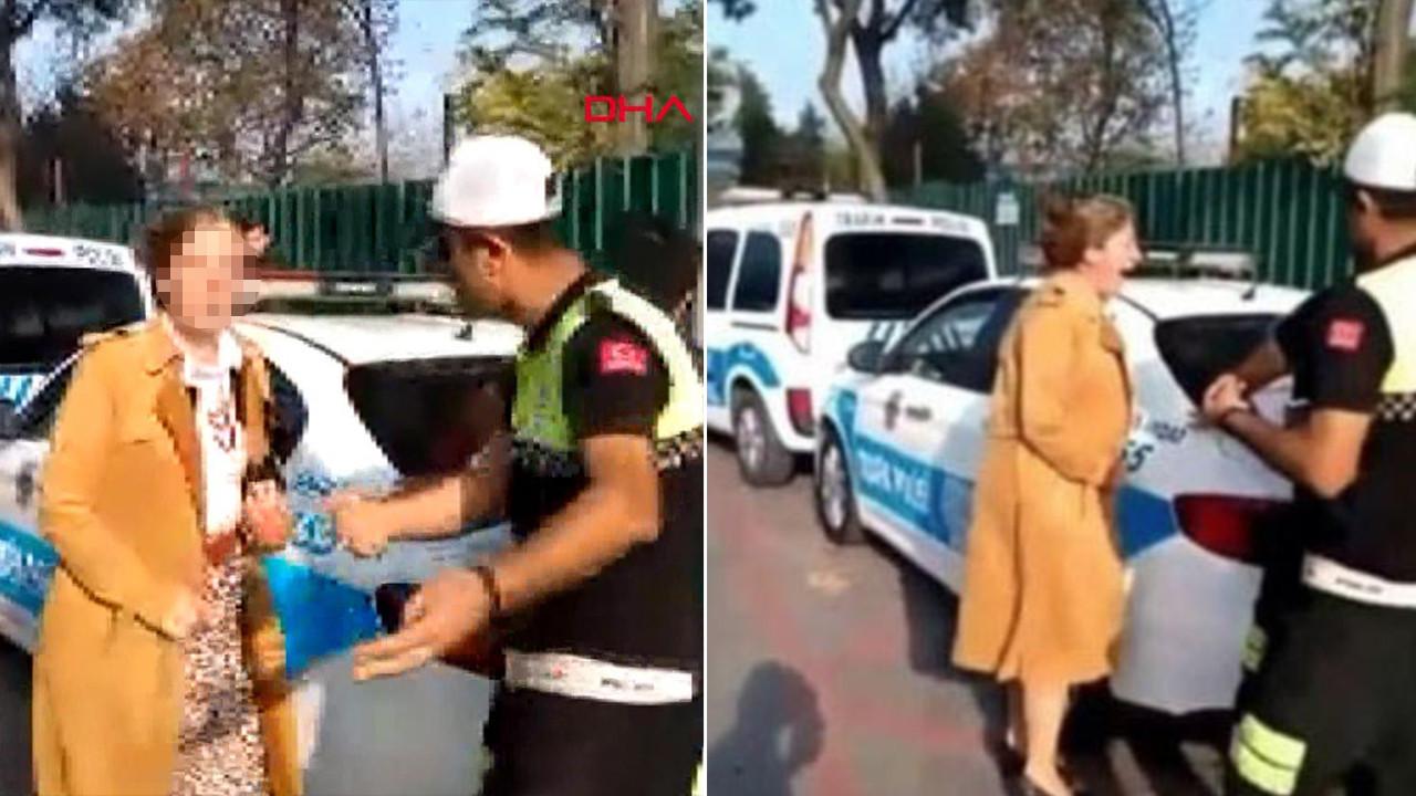 Polis ceza yazınca çığlık atmıştı! Görüntüleri paylaşan kişiye hapis cezası