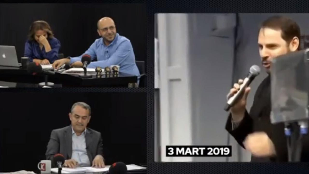 Canlı yayında Erdoğan ve Berat Albayrak videolarına böyle güldüler