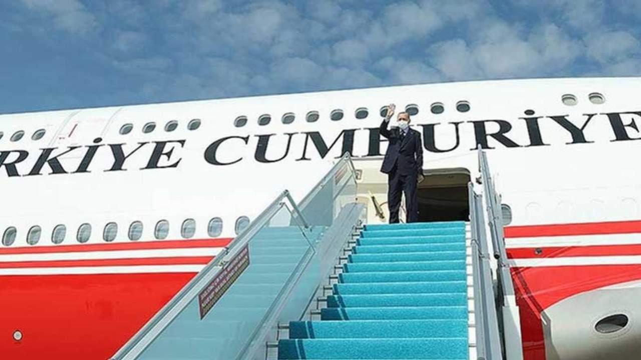 Erdoğan, Azerbaycan'a gitti