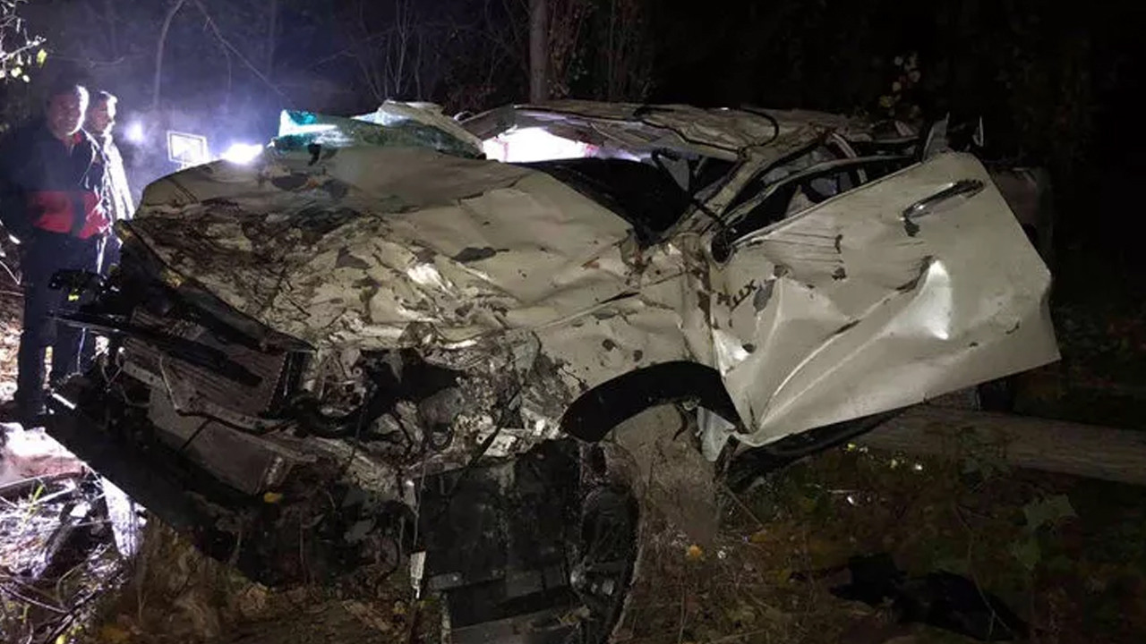 Tokat'ta dehşete düşüren kaza: 3 ölü, 1 yaralı