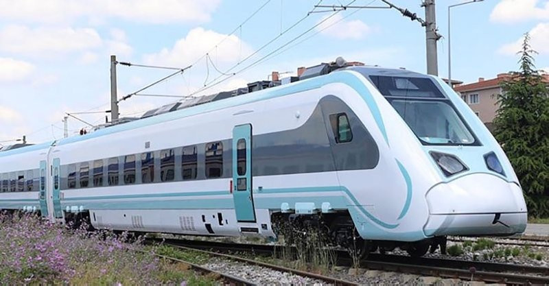 Milli elektrikli tren için geri sayım başladı