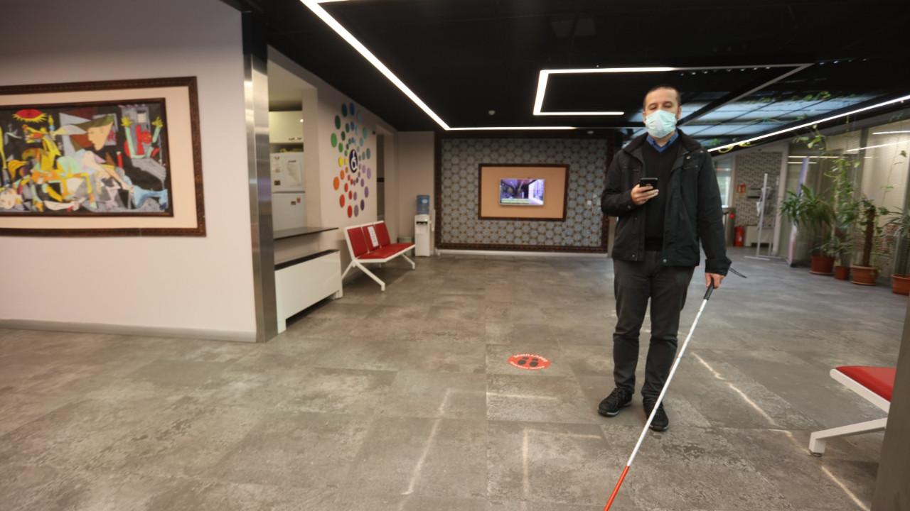 İBB tarihinde bir ilk: Görme engelliler KAYS ile rahatça gezebilecek