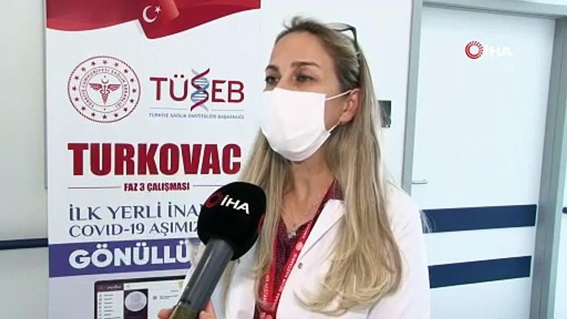 Yerli aşı Turkovac aşısı için son gönüllüler bekleniyor