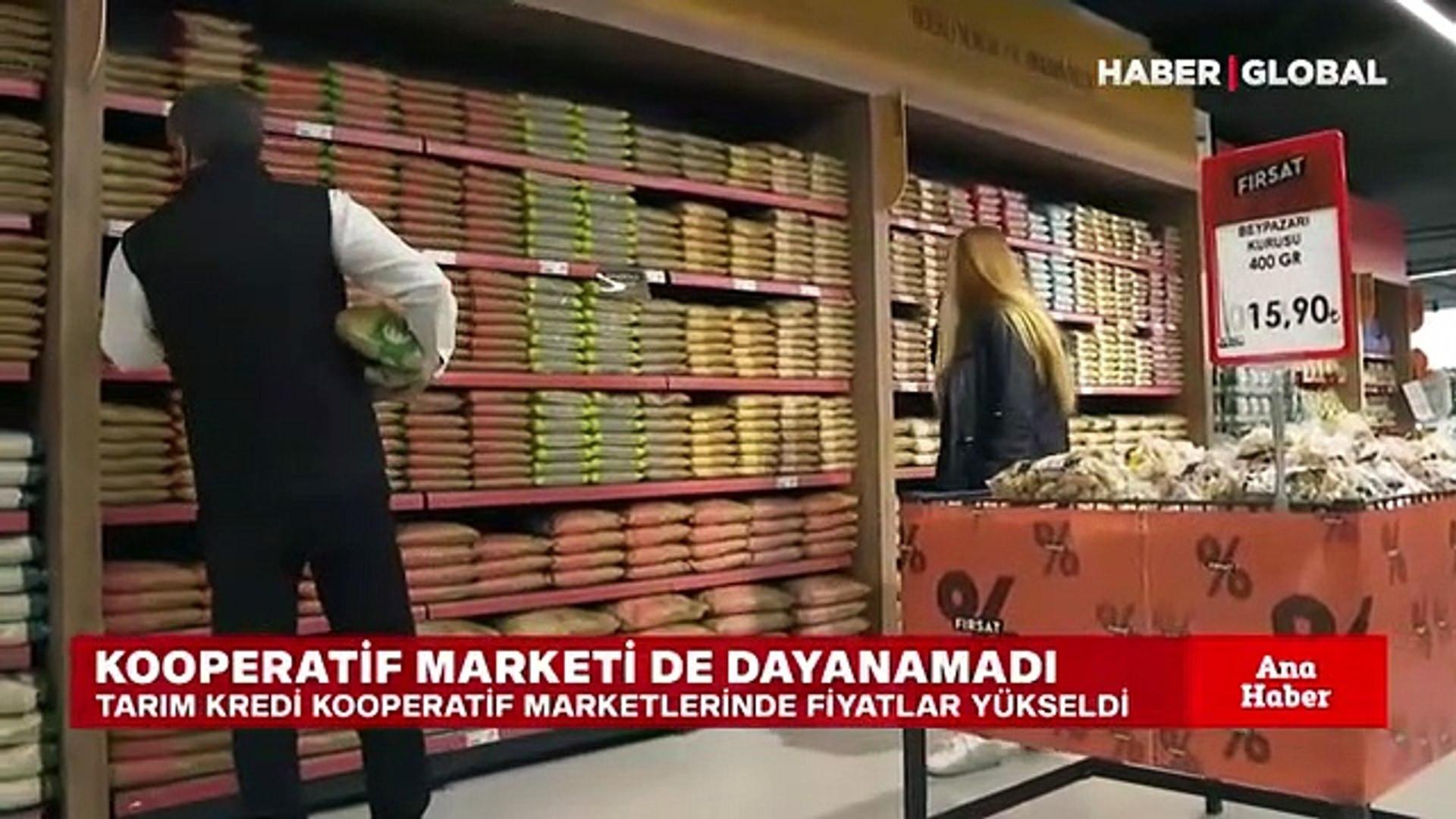 Erdoğan'ın fiyatları uygun dediği Tarım Kredi'de fiyatlar uçtu