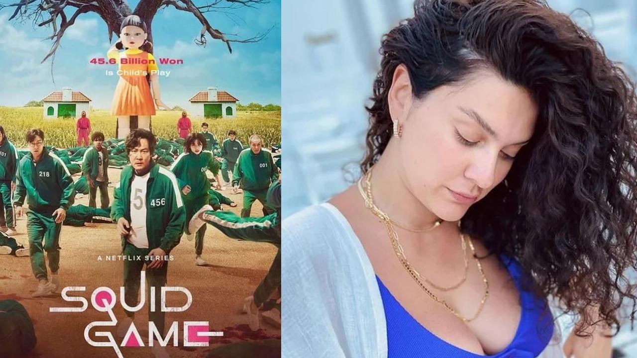 Bergüzar Korel'in Squid Game açıklamasına Esra Ceyhan'dan yanıt