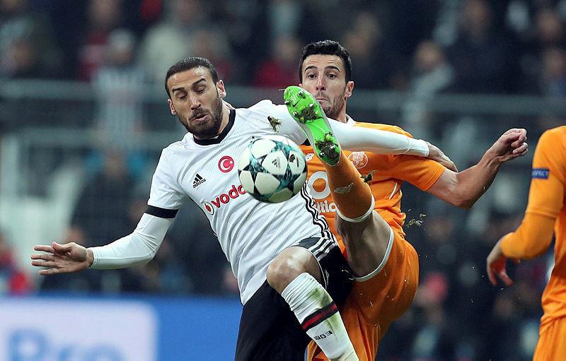 Beşiktaş - Porto maçından kareler