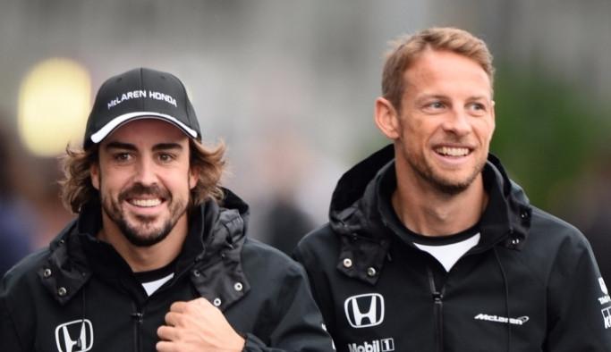 Formula 1'de Alonso'nun yerine Button
