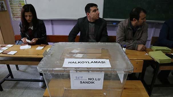 Türkiye sandık başında ! Oy verme işlemi başladı