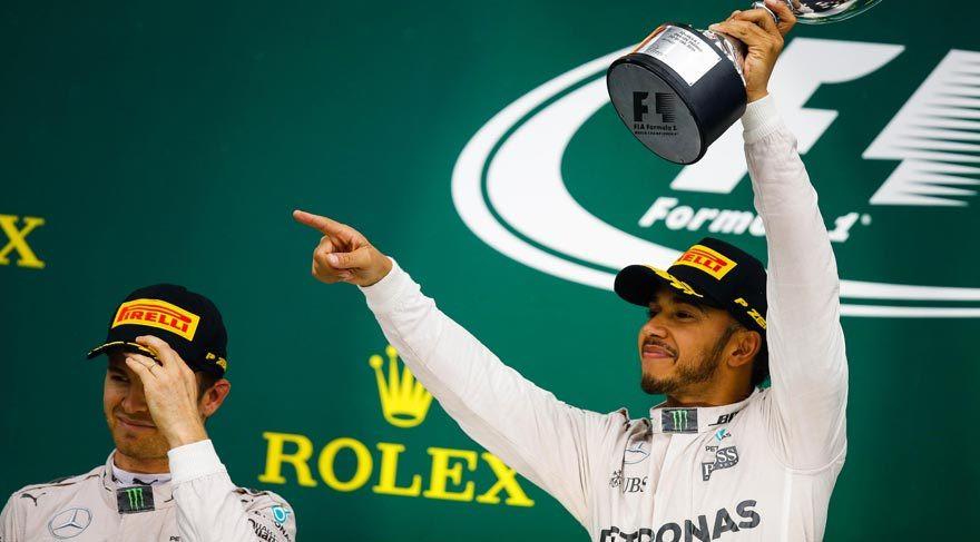F1 pilotu Hamilton'dan İstanbul yorumu