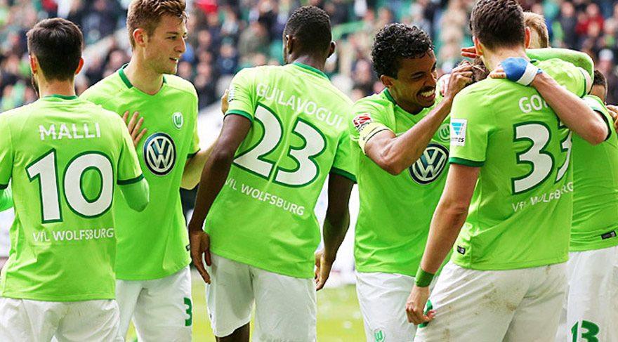 Wolfsburg'da Gomez ve Yunus Mallı şov !